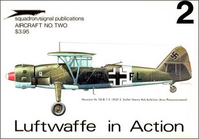 Luftwaffe in action. Part 2 (Aircraft No. two)