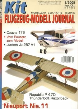 Kit Flugzeug-Modell Journal 2008-05
