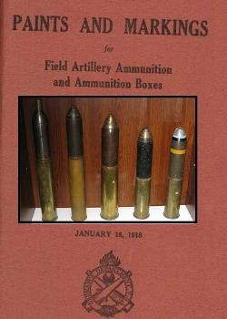 Paints and Markings for Field Artillery Ammunition