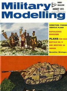Military Modelling 1971-08 (Vol.01 No.08)