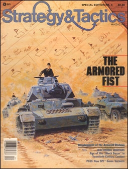 Strategy And Tactics Special Edition Nr.4. The armored fist