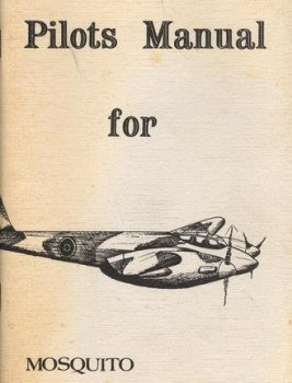 Pilot's Manual de Havilland Mosquito