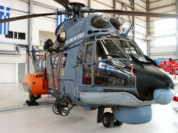 AS332C1 Super Puma (Hellenic) [Walk Around]