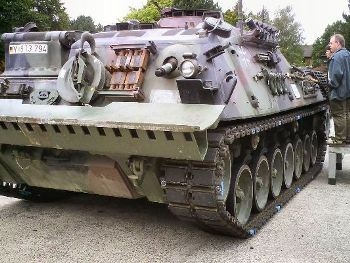 Bergepanzer 2 Engine Removed Walk Around