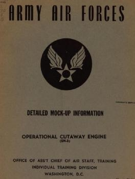Detailed Mock-up Information. Part 4 - Operational Cutaway Engine