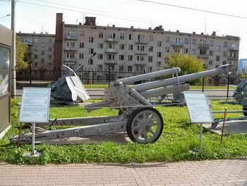 Фотообзор 10.5cm GebH 40 Howitzer Walk Around