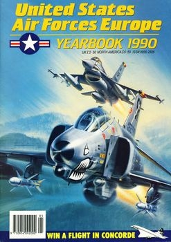 United States Air Forces Europe Yearbook 1990