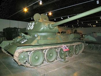 T-34 Walk Around