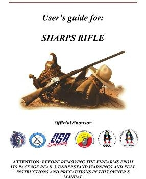 User's Guide: 1859 SHARPS CAVALRY .54 22 bbl single trigger, patchbox