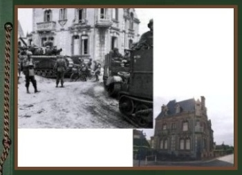 Normandy during WWII and now