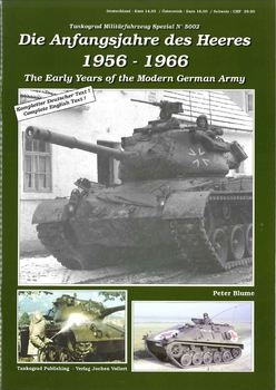 The Early Years of the Modern German Army (Tankograd 5002)