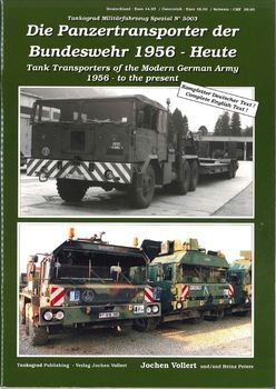 Tank Transporters of the Modern German Army 1956 to the Present (Tankograd 5003)