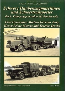 Heavy Prime-Movers and Tractor-Trucks (Tankograd 5009)