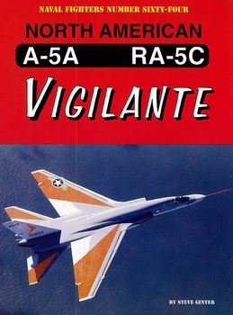 North American A-5A/RA-5C Vigilante (Naval Fighters №64)