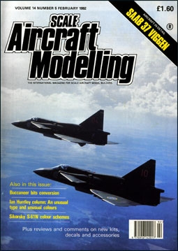 Scale Aircraft Modelling Vol.14 Num.5 1992
