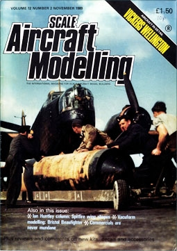 Scale Aircraft Modelling Vol.12 Num.2 1989