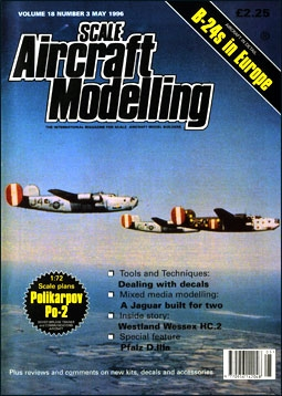 Scale Aircraft Modelling Vol.18 Num.3 1996