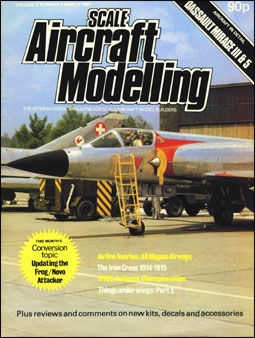 Scale Aircraft Modelling Vol.3 Num.3 1981