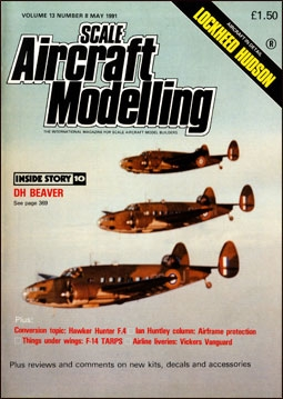 Scale Aircraft Modelling Vol.13 Num.8 1991