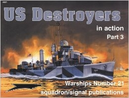 Squadron-Signal - Warships In Action 4021 - US Destroyers in action, Part 3