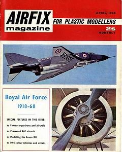 Airfix Magazine 1968-04 (Vol.09 No.08)