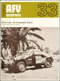 AFV Weapons Profile 33. German Armoured Cars
