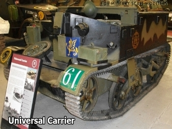 Universal Carrier No I Mk II Walk Around