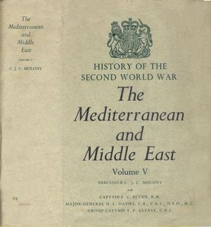 The Mediterranean and Middle East Volume V (History of the Second World War)