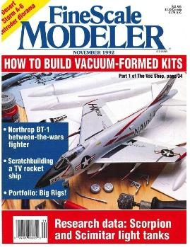 FineScale Modeler 1992-11 (Vol.10 No.07)