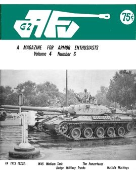 AFV-G2: A Magazine For Armor Enthusiasts Vol.4 No.06