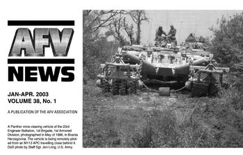 AFV News Vol.38 No.01 (2003-01/04)