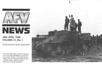 AFV News Vol.31 No.01 (1996-01/04)