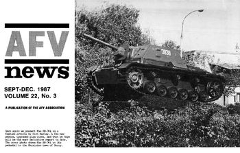 AFV News Vol.22 No.03 (1987-09/12)