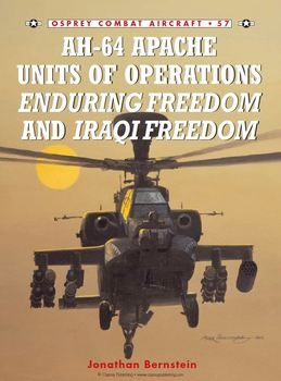BAH-64 Apache Units of Operations Enduring Freedom & Iraqi Freedom (Osprey Combat Aircraft 57)