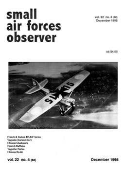Small Air Forces Observer 1998-12