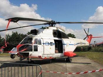 Aerospatiale SA330B (1024) Puma Walk Around