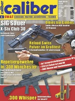 Caliber SWAT Magazin 2014-06