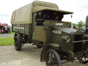 Hallford WW1 Truck Walk Around