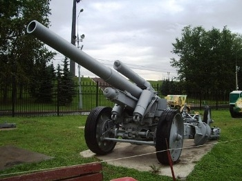 German 15cm Heavy Field Howitzer Model 1918 Walk Around