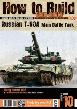 How to Build Como Montar 10 (Russian T-90A Main Battle Tank)