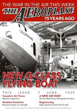 New G-Class Flying Boat (The Aeroplane 75 Years Ago)
