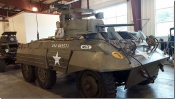 M8 Greyhound Walk Around
