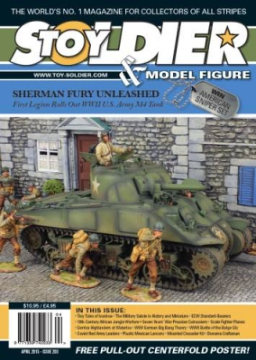 Toy Soldier & Model Figure - Issue 203 (2015-04)