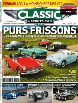 Classic & Sports Car - Avril 2015 (France)