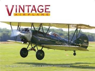 Vintage Airplane 2012-03 (Vol.40 No.03)