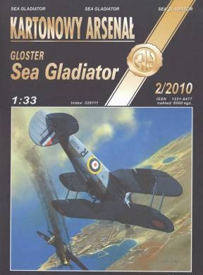 Gloster Sea Gladiator (Halinski KA 2010-2)