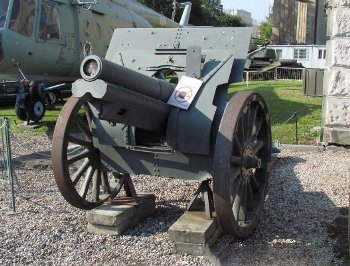 122mm Field Howitzer Schneider Model 1910-1930 Walk Around