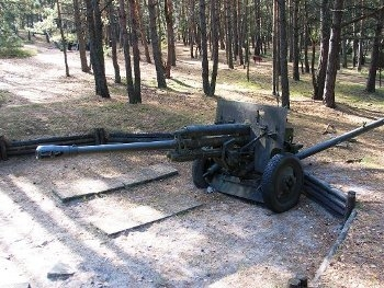 ZIS-3 76mm field gun model 1942 Walk Around