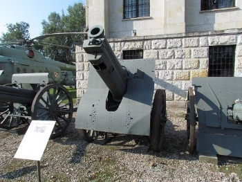 155mm Field Howitzer Schneider Model 1917 Walk Around
