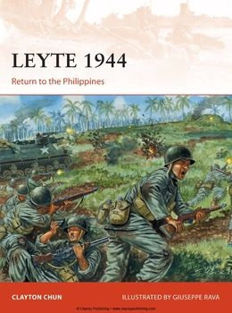 Leyte 1944: Return to the Philippines (Osprey Campaign 282)